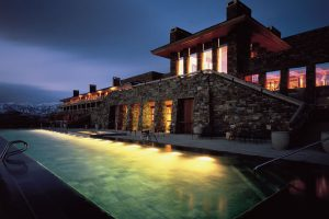 Amangani: Pool and terrace